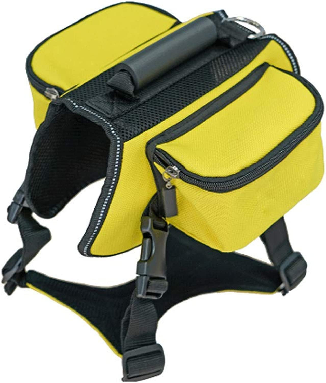 GJ Pets Out Travel From Backpacks Large Dogs Outdoor Selfselling Bags Towable Backpacks (color   Yellow, Size   Xl)