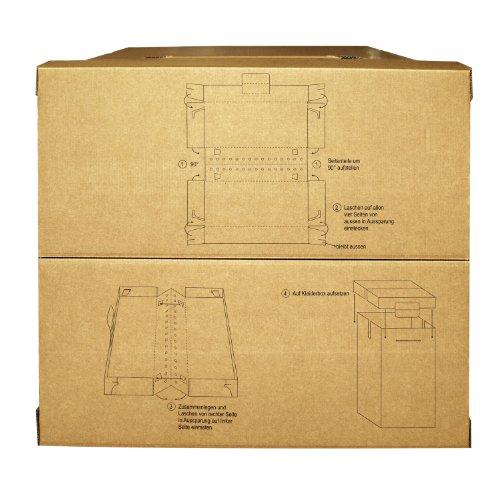 15 neue Kleiderboxen – Kleiderbox in Profi Qualität mit separatem Deckel incl Aufhängevorrichtung - 4