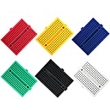 ELEGOO 6PCS 170 tie-Points Mini Breadboard kit