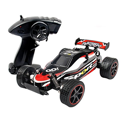 Aribelly Aribelly Remote Control RC RTR Racing Car Truck 1:20 2.4GHZ 2WD Radio Off Road (Red)