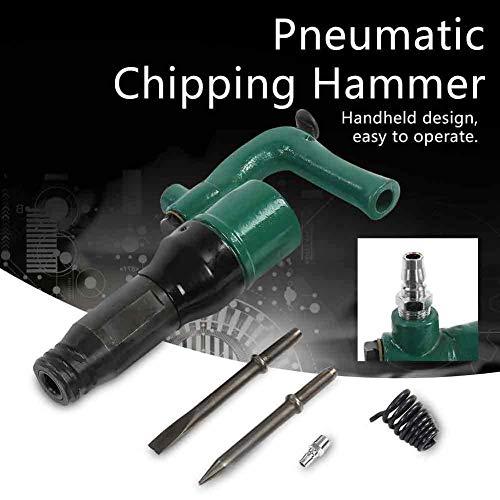 CXD Presslufthammer, Leistungsstarker Hohe Qualität Umweltschutz Erzeugt Handheld-Design Einfach Zu Bedienen Ganzkörper Stahl Material Starke,1