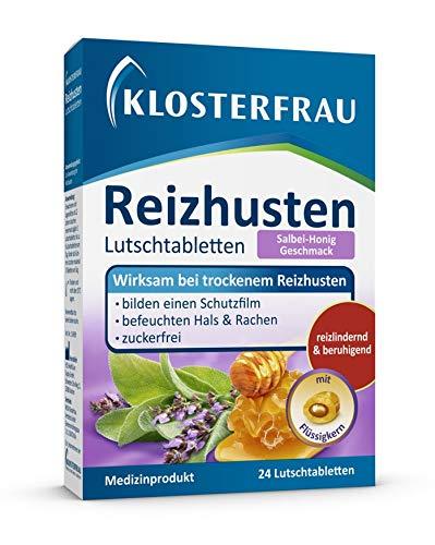 Klosterfrau Reizhusten 24 Lutschtabletten Salbei Honig wirksam bei trockenem Reizhusten