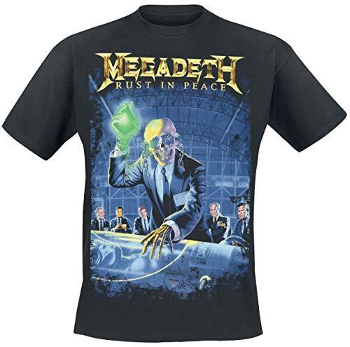 Megadeth Rust in Peace Männer T-Shirt schwarz XL 100% Baumwolle Band-Merch, Bands