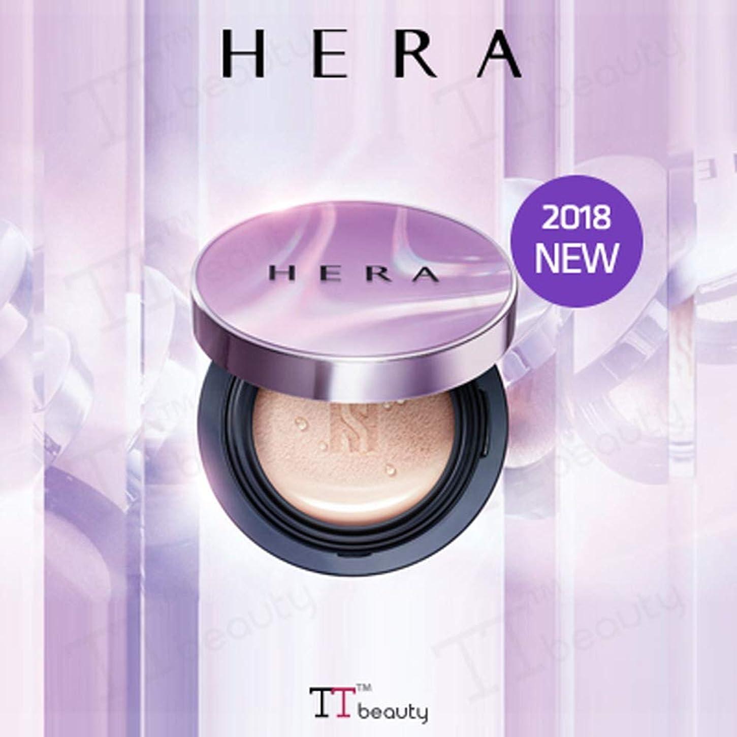 ベリー税金ご意見[HERA/ヘラ]UVミストクッションカバー(15gx2)/UV MIST CUSHION COVER SPF50+/PA+++[2018新発売][TTBEAUTY][韓国コスメ] (No.C15-Rose Ivory cover)