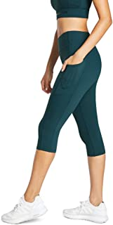 Rockwear Activewear Women's 3/4 Perforated Pocket Tight Dark Teal 14 from Size 4-18 for Bottoms Leggings + Yoga Pants+ Yog...