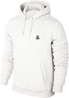Erkek Beyaz Kapşonlu Sweatshirt