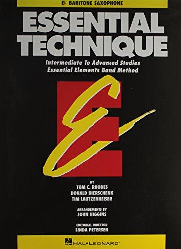 Price comparison product image Essential Technique: Intermediate to Advanced Studies - Eb Baritone Saxophone (Essential Elements)