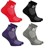 4 Paar bunte Anti-Rutsch-Socken mit ABS-System,ideal für solche Sportarten,wie Joga,Fitness Pilates...
