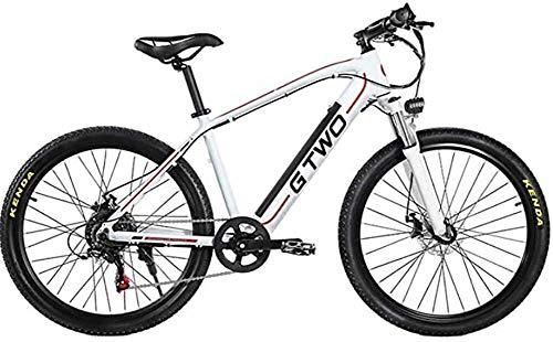 GYL Bicicleta eléctrica Scooter Scooter de viaje Adulto 27.5 pulgadas Velocidad variable...