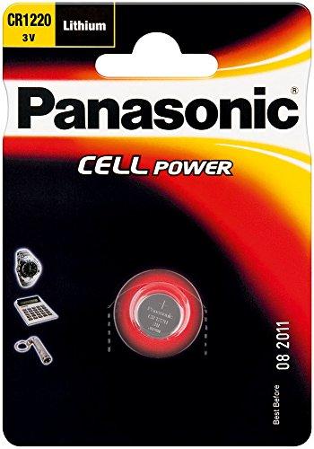 Pila a bottone al litio - Panasonic CR 1220 EL, 10er Pack