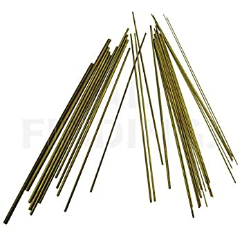 Jewellers Tools 30+Pcs Brass Bushing Wire for Clocks 0.2 MM Upto 4.0 MM Clock Watch Tool Multicolor