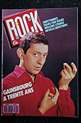 ROCK & FOLK 267 COVER SERGE GAINSBOURG EURYTHMICS TEARS FOR FEARS Rolling Stones Neville Brothers + POSTER
