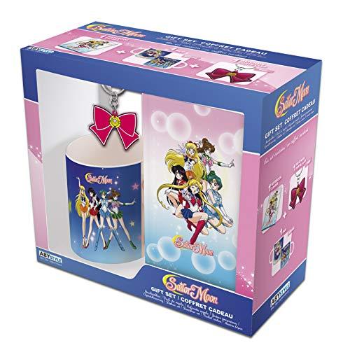 ABYstyle – Sailor Moon – Gift Box – Schlüsselanhänger, Tasse und Notizbuch