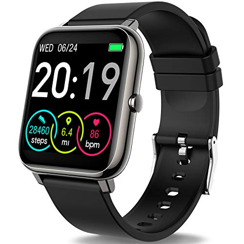 Rinsmola 2021 Smart Watch for Android/iOS Phones, 1.4' Full Touch...