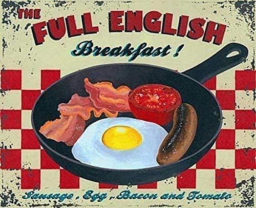 Full English Breakfast Magnet - Petit déjeuner anglais complet aimant de réfrigérateur (og)