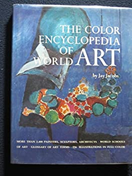 The Color Encyclopedia of World Art 051752208X Book Cover