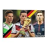 GUOHANG Julian Draxler Fußball-Stern-Poster, dekoratives