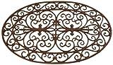Esschert Design Cast Iron Doormat - Oval 29' x 19'