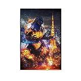 WSDSL Godzilla 13 Movie Film Cool Wall Decor Art Print