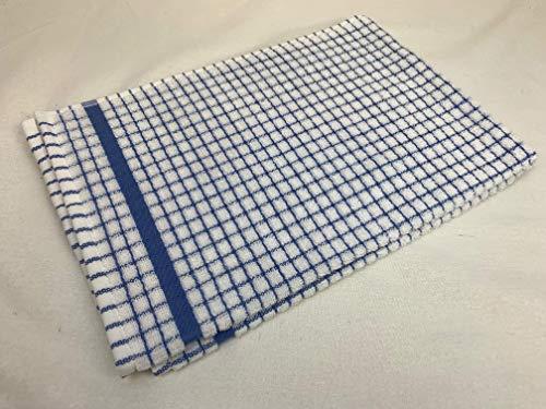 Samuel Lamont - Paño de Cocina (algodón), diseño de Flores de maíz, Color Azul