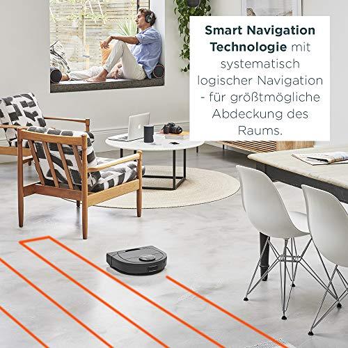 Neato Robotics Botvac D602 Connected – Saugroboter Alexa kompatibel & für Tierhaare – Automatischer Staubsauger Roboter mit Ladestation, Wlan & App - 4