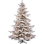 Vickerman Flocked Sierra Fir Christmas Tree