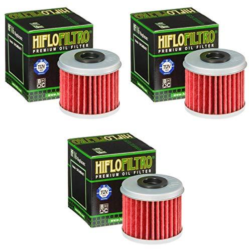 Hiflo 3x Ölfilter CRF 450 R 2002-2015 HF116