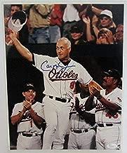 cal ripken jr autographed photo