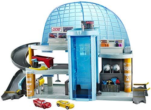 Disney Cars Toys Pixar Cars 3 Florida Speedway Mega Garage [Amazon Exclusive]