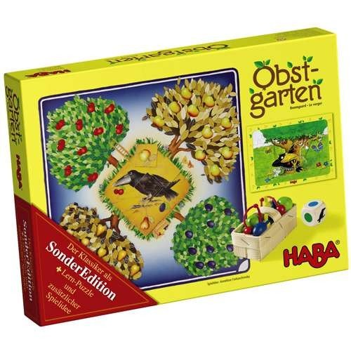 Obstgarten Sonderedition (inkl. Puzzle) - HABA 4270