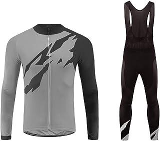 Uglyfrog Bike Wear Cycling Gifts Men's Long Sleeve Shirt Cycling Jerseys Warm Winter Riding Clothing Great Gift for Bicycle
