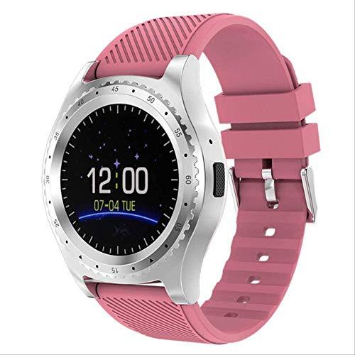YUJY Smartwatch Frauen Smartwatch Damenuhr Incoming Call Reminder Sport Fitness Tracking Mp4 Music Player Herren Smartwatch für Kinder pink