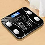 HAPPY-HAT Báscula de Peso Báscula electrónica Bluetooth BMI Báscula de Grasa Corporal Báscula de Peso Báscula de baño...