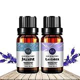 RA Jasmin Lavendel Öl Jetzt Aromatherapie, 100% Reine Therapeutischen Klasse Öle, 2/10 ml