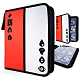 Pokke Binder for Pokemon Cards - Card Holder Includes 30 Sleeves (540 Cards) - Trading Collectors Album Includes 30 Premium 9-Pocket Pages