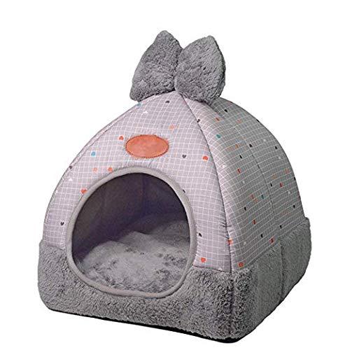 Mackur Pet Nest Hund Katzenbett Faltbare Winter Weich Cozy Schlafsack