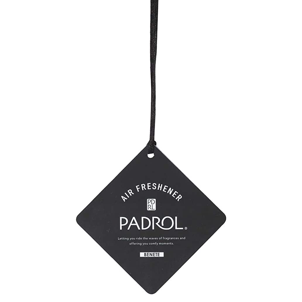 大騒ぎ実施する病んでいるPADROL ルームフレグランス エアーフレッシュナー BENETE 吊り下げ ホワイトムスクの香り PAB-5-01