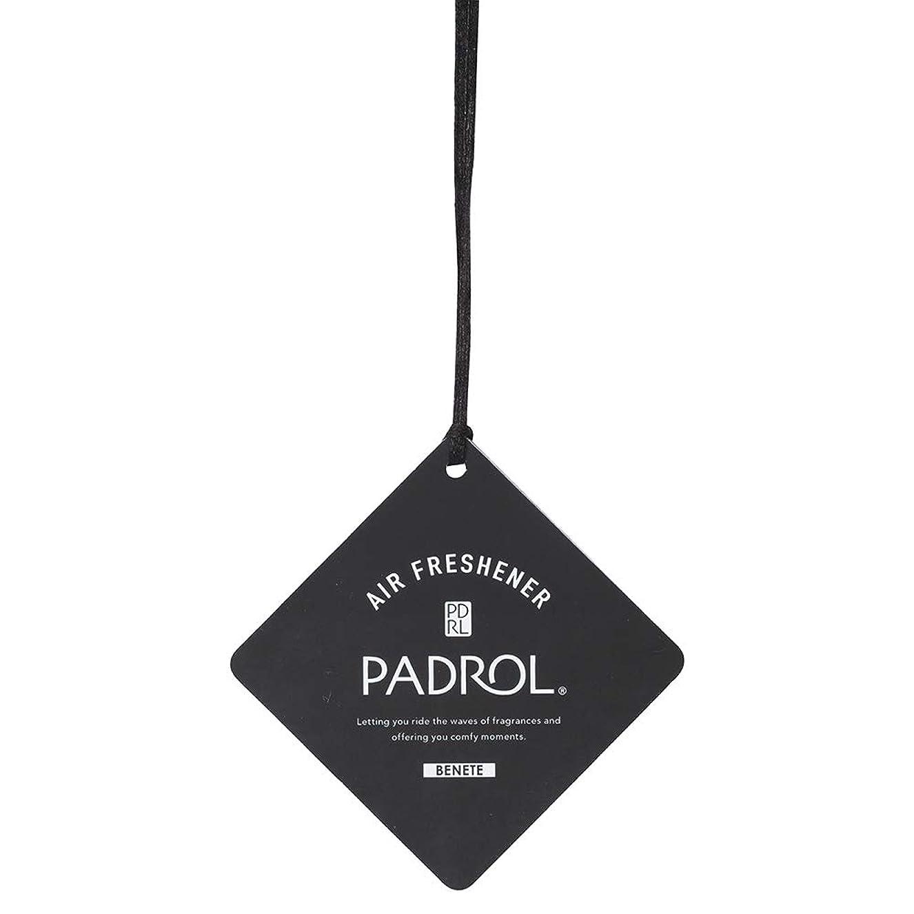 肥料家レーニン主義PADROL ルームフレグランス エアーフレッシュナー BENETE 吊り下げ ホワイトムスクの香り PAB-5-01