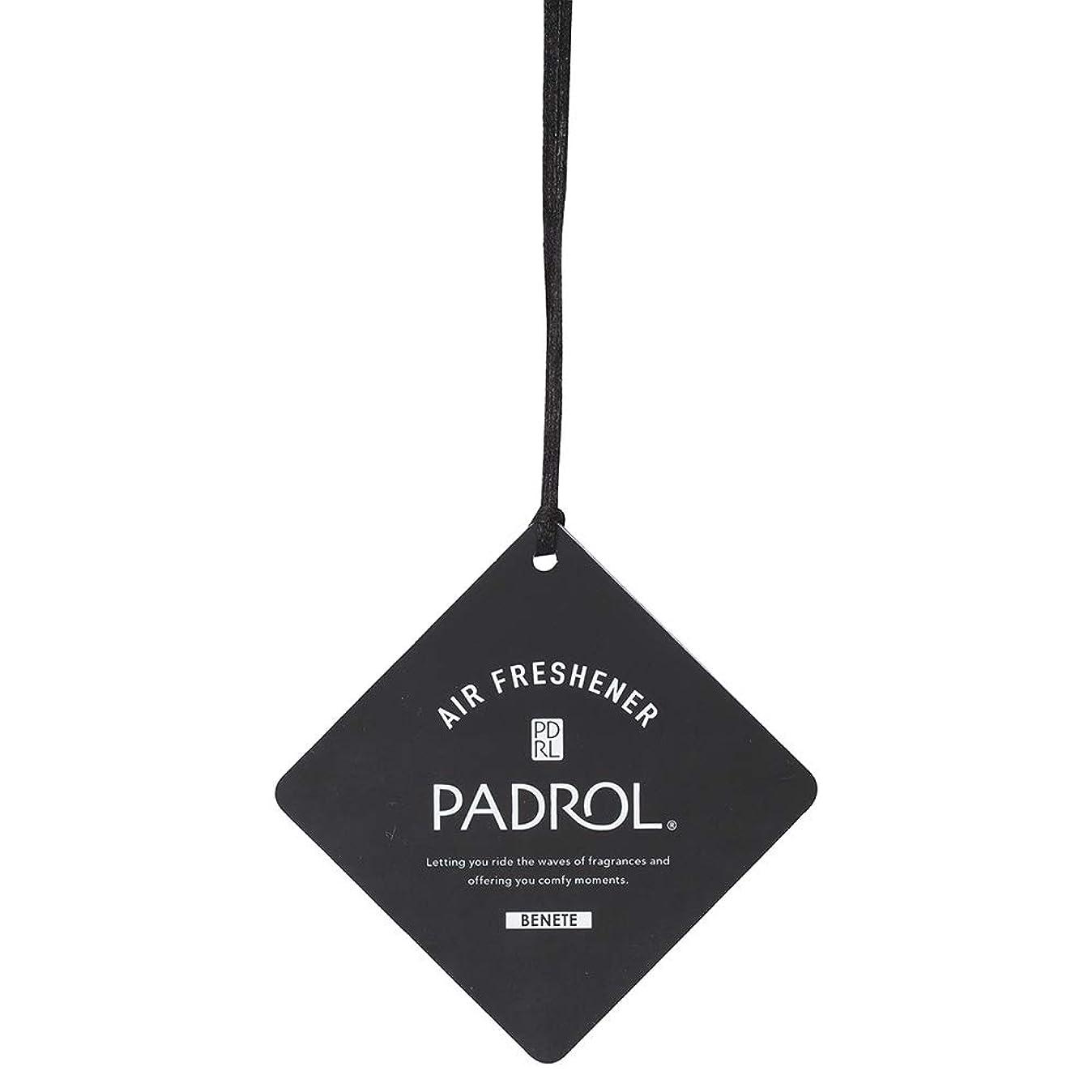 あいにくファブリック高尚なノルコーポレーション ルームフレグランス エアーフレッシュナー パドロール 吊り下げ BONITA PAB-5-01 ホワイトムスクの香り 1枚