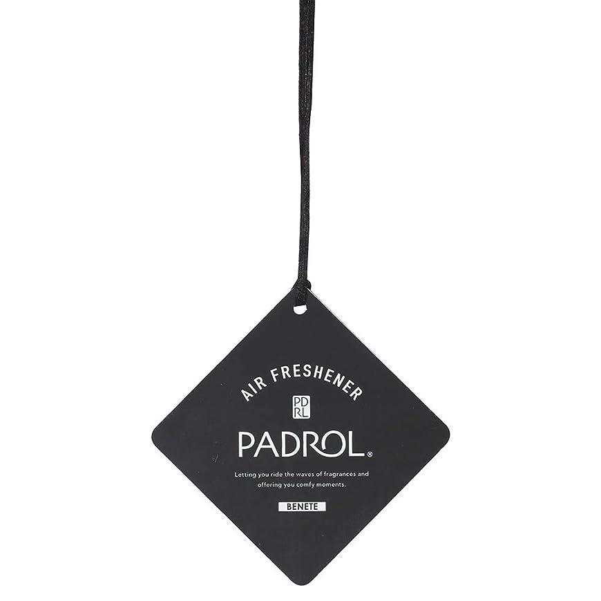 序文豆うまくやる()ノルコーポレーション ルームフレグランス エアーフレッシュナー パドロール 吊り下げ BONITA PAB-5-01 ホワイトムスクの香り 1枚