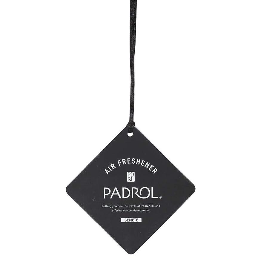 ズームインする影響する処方するPADROL ルームフレグランス エアーフレッシュナー BENETE 吊り下げ ホワイトムスクの香り PAB-5-01