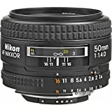 Nikon AF NIKKOR 50mm f/1.4D Lens with Creative Filter Kit and Pro Cleaning Accessories