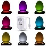Das Nachtlicht Gadget für die Kloschüssel Lustiges LED Bewegungslicht. Vatertagsgeschenk...