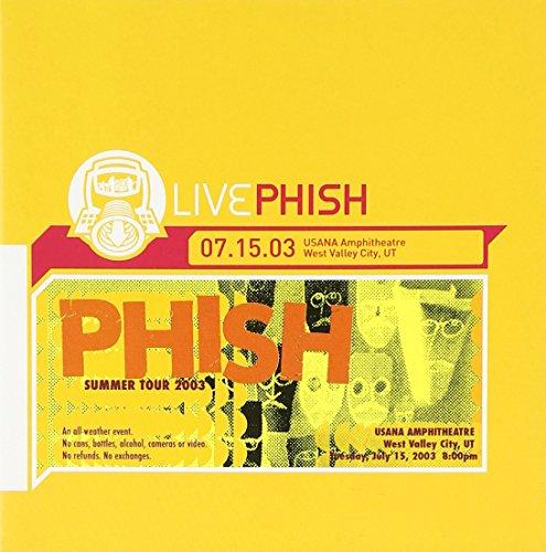 Live 07/15/03 Usana Amphitheatre