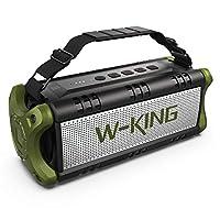 LO STANDARD DI QUALITÀ PIÙ ALTO TRA GLI ALTOPARLANTI WIRELESS: L'altoparlante senza fili W-KING D8 è qui per aiutarti a godere di una qualità audio da discoteca anche quando sei in movimento, grazie alla sua potenza di uscita di 50 W e al sistema di ...