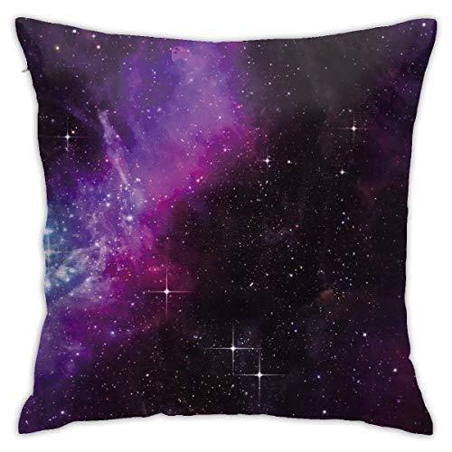 Moshow Kissenbezüge Kissenbezüge Dekoration Nova Galaxy Milchstraße auf dem Schlafsofa 45X45 cm