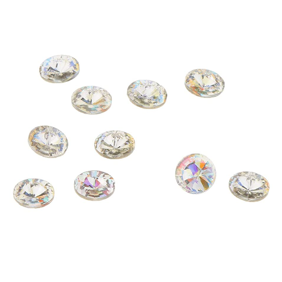 蒸留言及する思いつくB Blesiya 10個 ネイルアート 3D ネイルチャーム ダイヤモンドチップ プロ ネイルサロン 5タイプ選べ - C