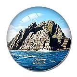 Irland Skellig Atlantik Ozean 3D Kühlschrankmagnet Whiteboard Magnet Souvenir...