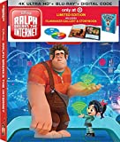 Ralph Breaks the Internet (Limited Edition Filmmaker Gallery & Storybook) [4K Ultra HD + Blu-ray + Digital HD]