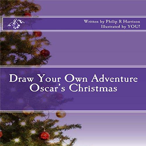 Draw Your Own Adventure: Oscar's Christmas audiobook cover art